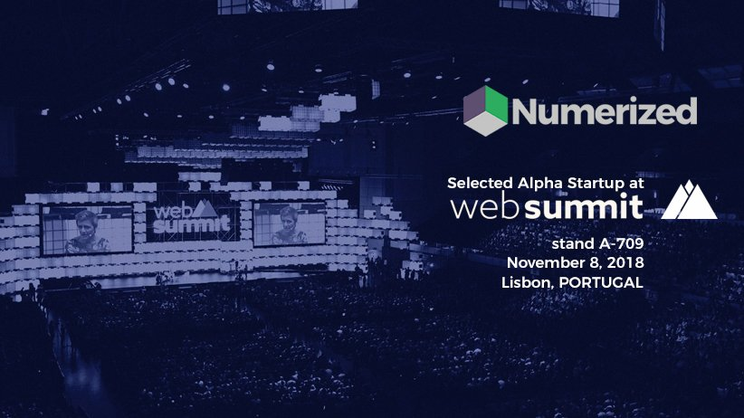 Numerized @ Web Summit 2018