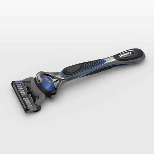 Gillette Fusion in 3D